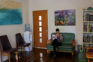 Byron Bay Dental Waiting Room