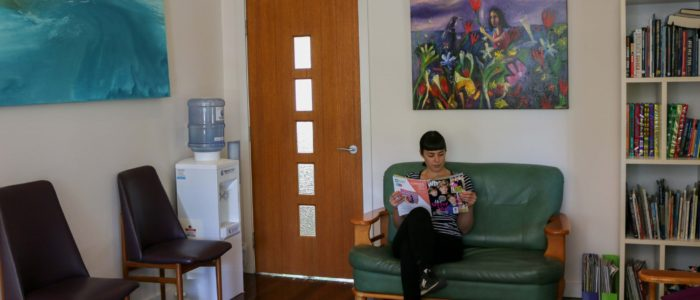 Byron Bay Dental Waiting Room